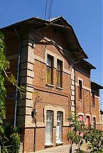 Південний (міський) фасад особняка Кумбарі в Вінниці