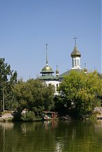 Купола винницкой церкви блаженной Ксении