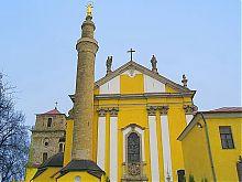 Центральний фасад кам'янець-подільського кафедрального собору св. Петра і Павла