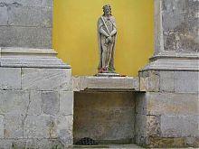 Статуя святого Вінсента кам'янець-подільського кафедрального собору Петра і Павла