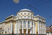 Кутовий ризаліт вінницького Будинку організацій