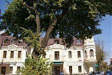 Південний фасад будинку Кумбарі в Вінниці