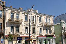Центральна будівля вінницької садиби Вергіліса