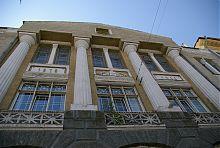 Центральний фасад Вінницької міської думи