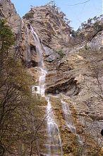 Водопад Учан-Су (общий вид)