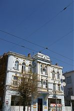 Центральний фасад прибуткового будинку Шерра в Вінниці