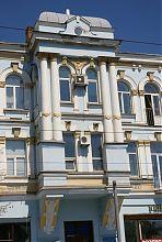 """Центральний еркер готелю """"Палас"""" в Вінниці"""