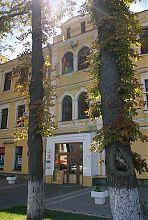 Портал центрального входу канцелярії Вінницького реального училища