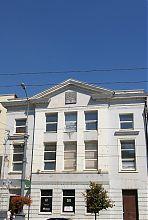 Центральний фасад синагоги Ліфшица на Соборній 62