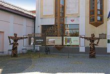 Центральний фасад вінницького краєзнавчого музею