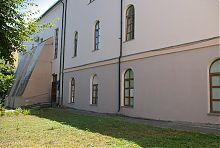Контрфорси східної частини костелу в Вінниці
