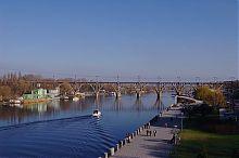 Малые арочные конструкции днепропетровского Мерефо-Херсонского моста