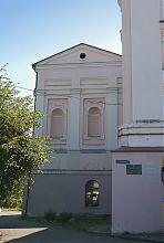 Парадний фасад часовни єзуїтського храму в Вінниці