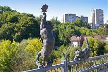 Коти Київського мосту у Вінниці