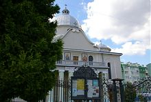 Балкон греко-католицького храму в Богородчанах