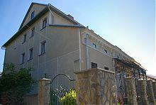 Західний кут реколекційного будинку сестер-служебниць в Надвірній