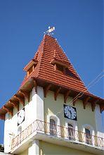 Годинникова вежа Надвірнянської ратуши