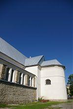 Апсида колишнього Троїцького костелу в Надвірній