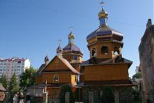 Надвірнянська церква Воздвиження Чесного Хреста
