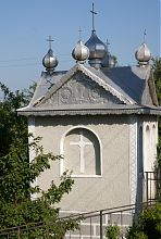 Каплиця Миколаївського храмового комплексу в Стримбі