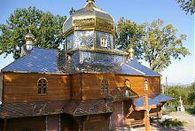 Храм святого Миколая комплексу в Стримбі