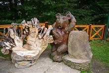 Дерев'яні скульптури Карпатського національного природного парку