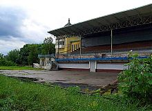 Внутренний фасад ипподрома в Харькове