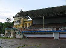 Трибуны ипподрома в Харькове