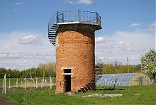Водонапірна вежа маєтку в Зеленому