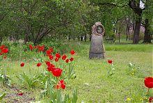 Одна з фігур парку глиняних скульптур парку