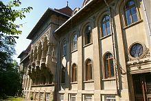 Парковий фасад Попівського будинку в Чернівцях