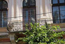 Балкон центрального фасаду Народного дому