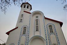 Центральний фасад маріупольського собору Петра Могили
