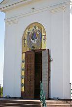 Портал центрального входа Троїцької церкви