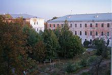 Внутрішній двір полтавського кадетського корпусу