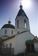 Дзвіниця храму в Благодатному