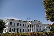 Будівля старого полтавського поштамту