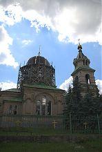 Західний фасад церкви святого Миколая Мирлікійського в Дружківці