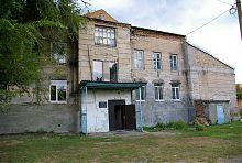 Дворовий фасад менонітського банку в Молочанську