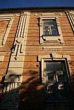 Північно-західний фасад училища медичних сестер Гальбштадту