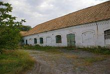 Парадний фасад ремонтно-виробничих цехів Генріха Шрьодера