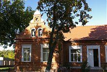 Західний ризаліт менонітського центру в Молочанську