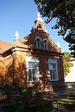 Східний ризаліт колишньої менонітської Medchenschule