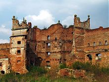 Восточная башня Старосельского замка (вид изнутри)