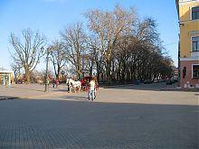 Площа Армана де Рішельє на одеському Приморському бульварі