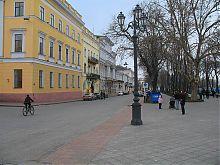 Одесский Приморский бульвар