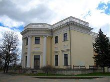 Северо-западный фасад Воронцовского дворца Одессы