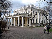 Юго-восточный фасад Воронцовского дворца Одессы