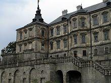 Северный фасад Подгорецкого замка