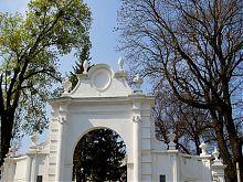 Въездная арка Вишневецкого замка